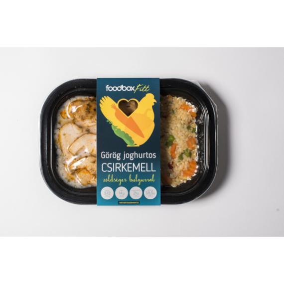 FoodBox FITT Görög joghurtos csirkemell bulgurral