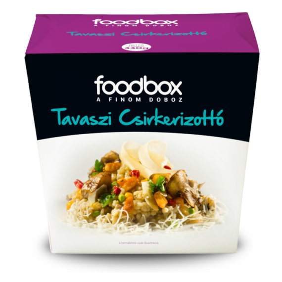 FoodBox Tavaszi csirkerizottó